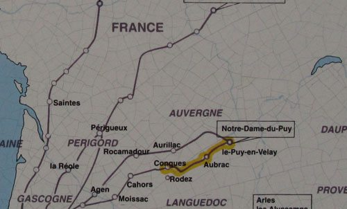 From Le Puy to Conques