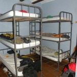 Viana Hostel albergue 3 level bunkbeds camino Frances