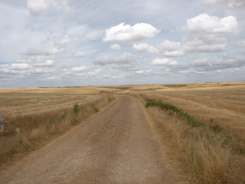 meseta route on the Camino