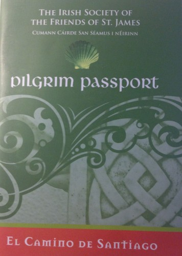 Irish pilgrims passport