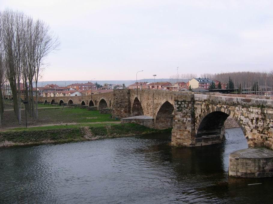 Villar de Mazarife to Astorga Camino Frances de Santiago