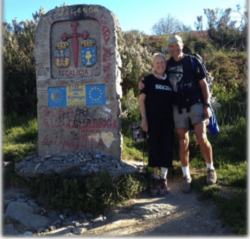 Christine and Douglas in Gailicia