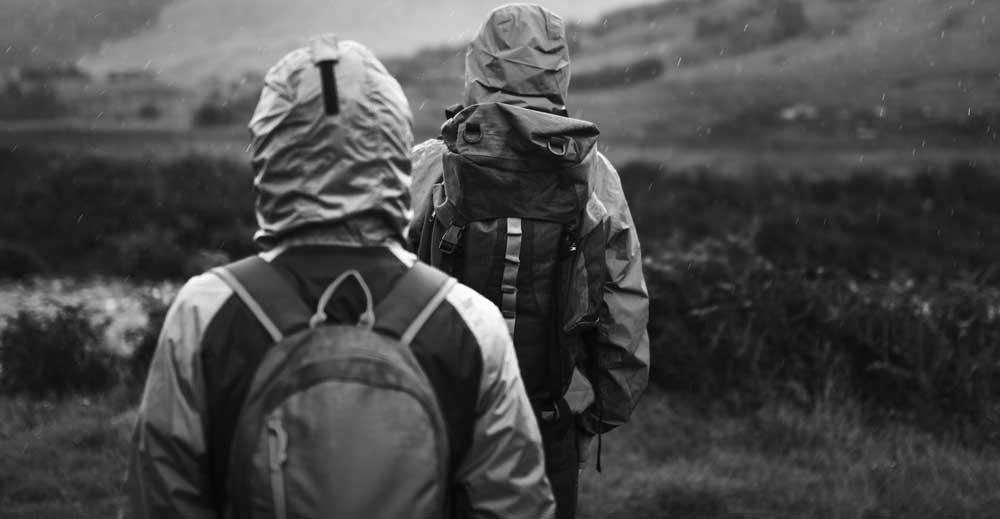 hiking rain jacket