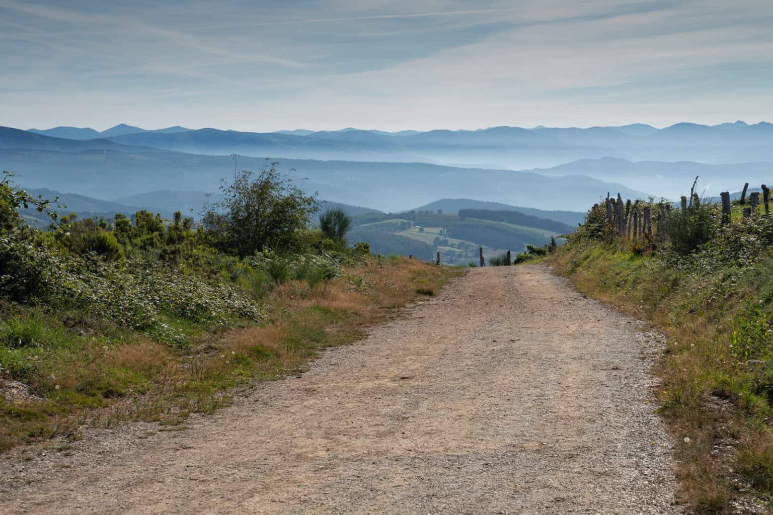 Camino trail in Galicia