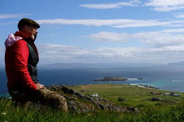 Atop Dun Iona Scotland