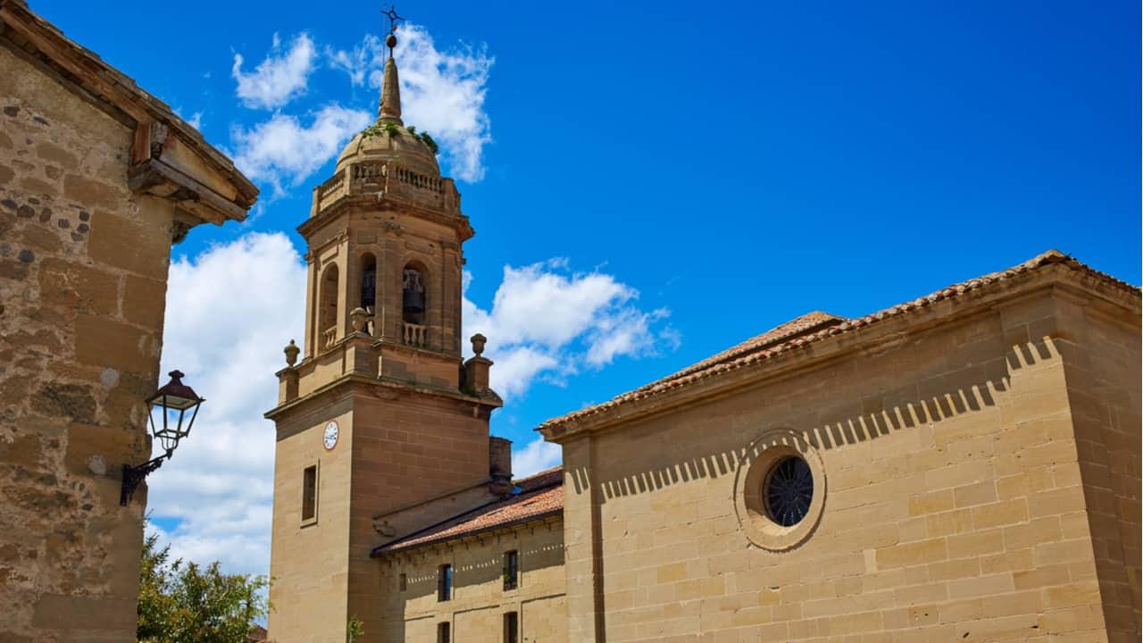 Granon Church on the Camino
