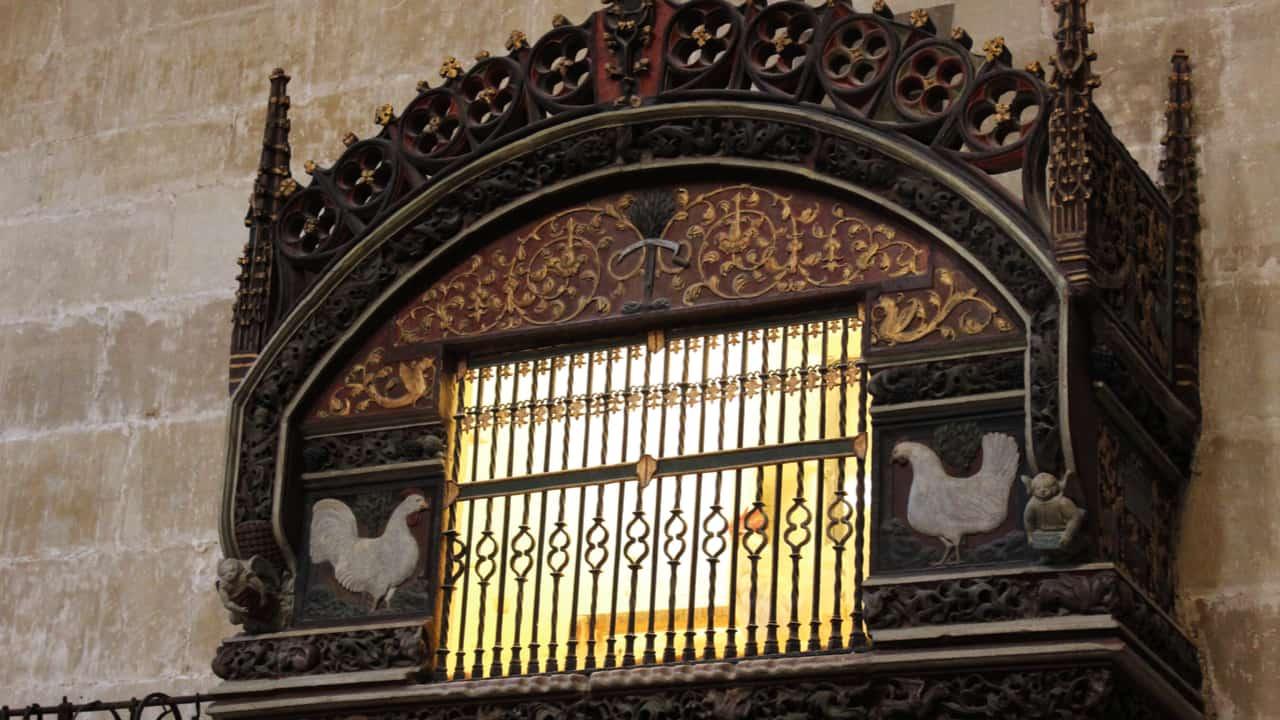 Pen in Santo Domingo Church