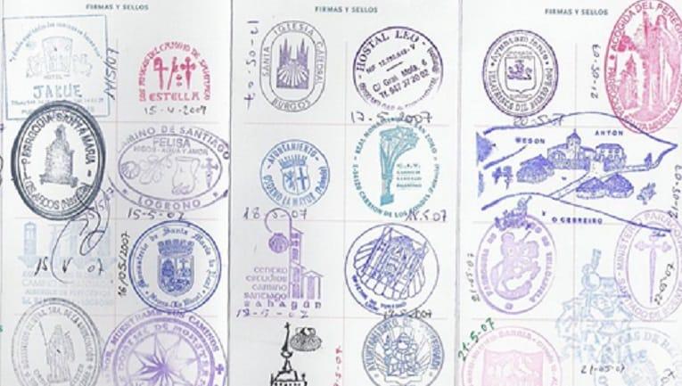 Pilgrims passport