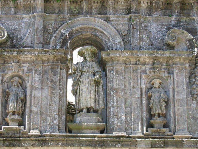 Sculpture of Santiago