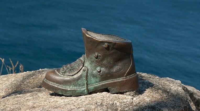 shoe sculpture