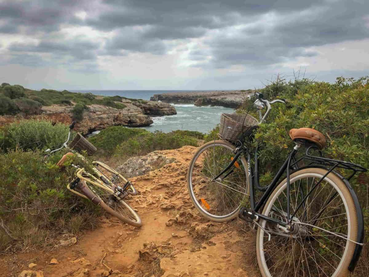 Two bicycles in Majorca