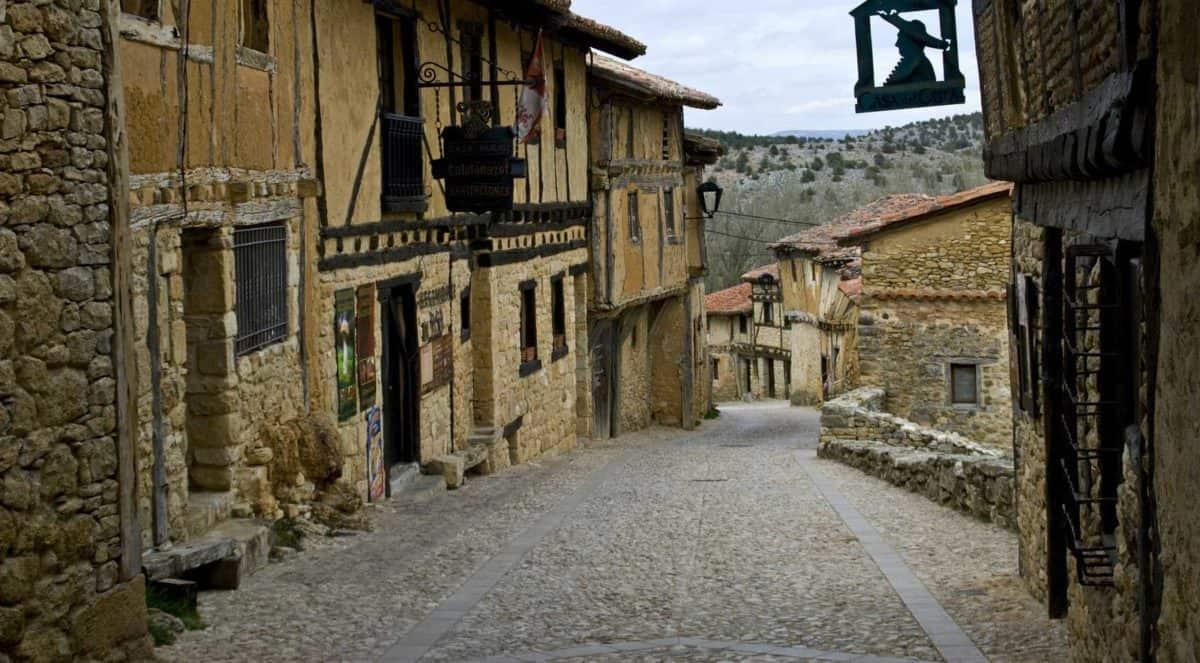 Village in Spain Camino