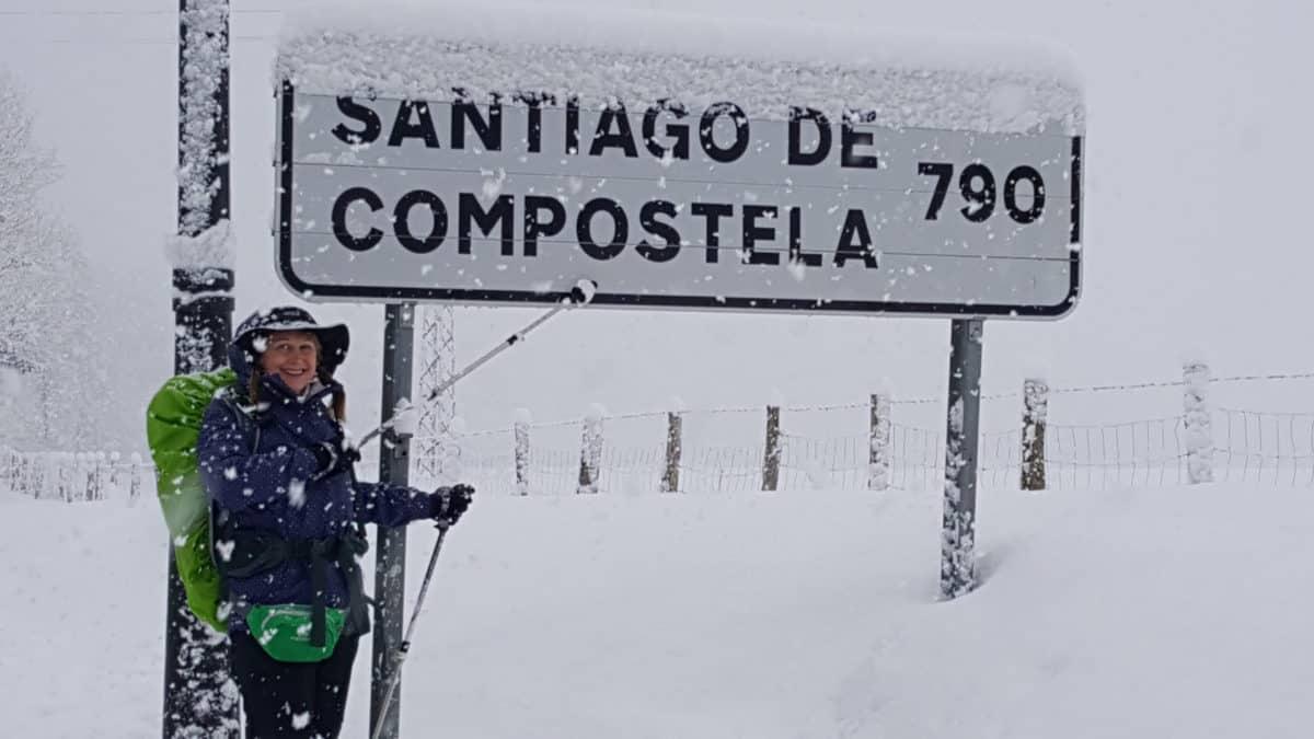 Snow on the Camino