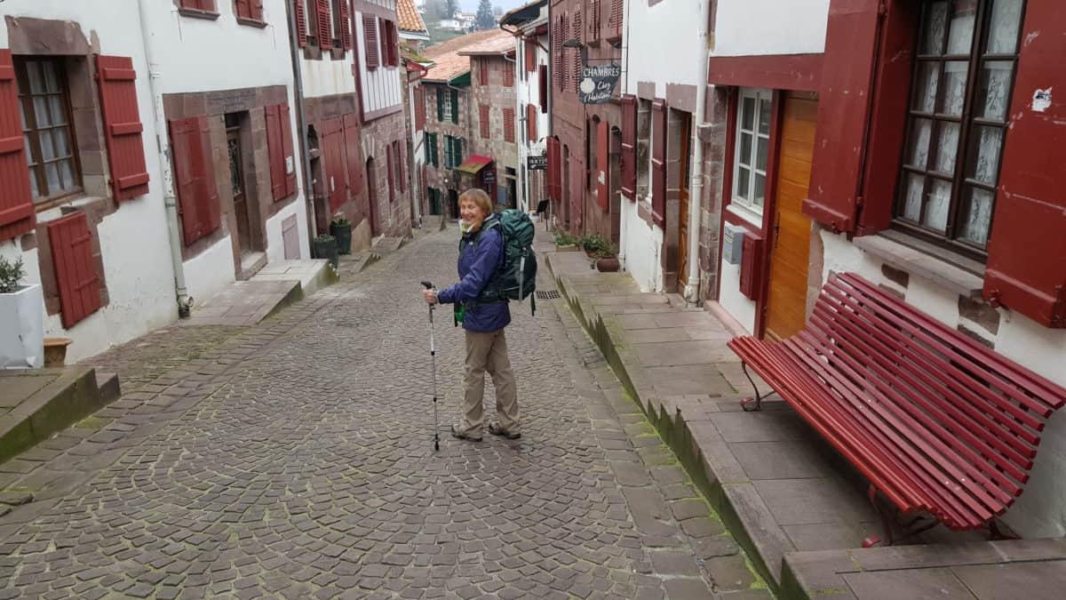 Leaving St Jean Pied de Port