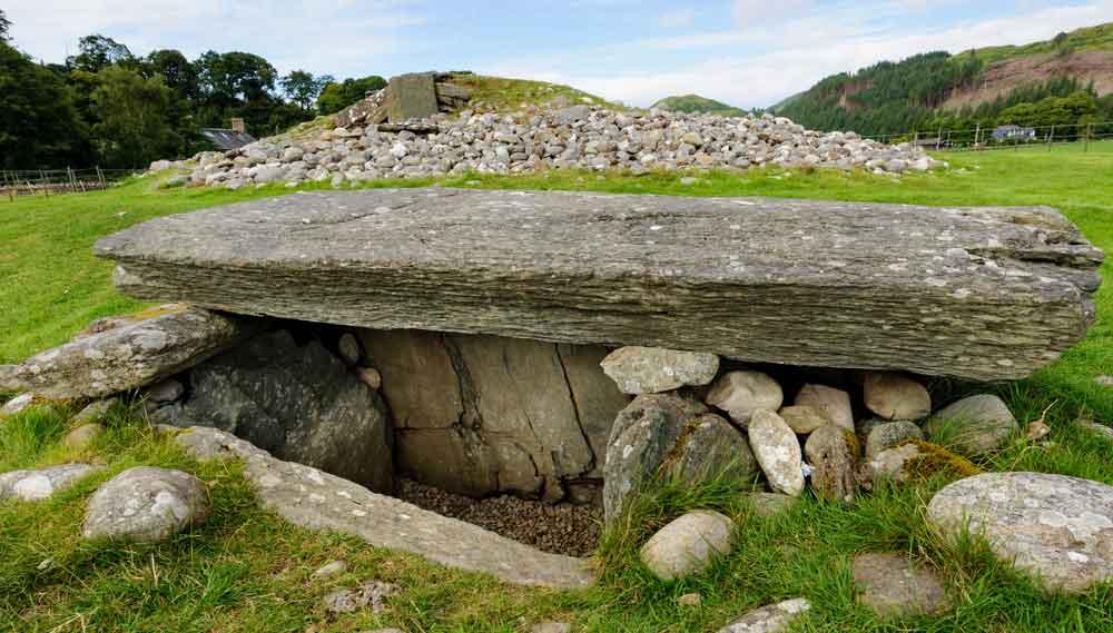 Belas Knap neolithic burial chamber