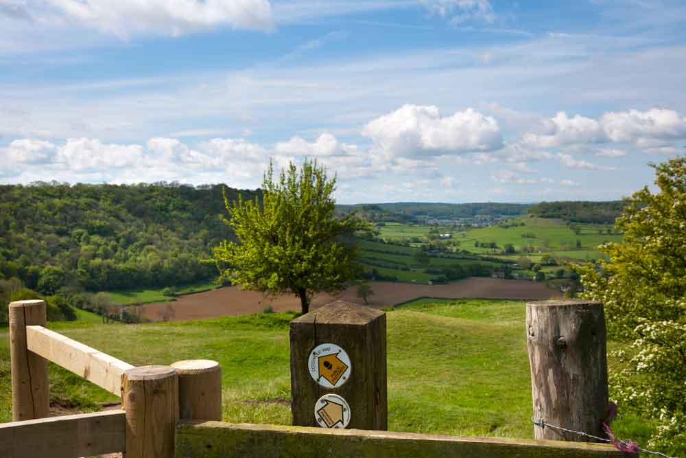 Cotswold Way route marketing