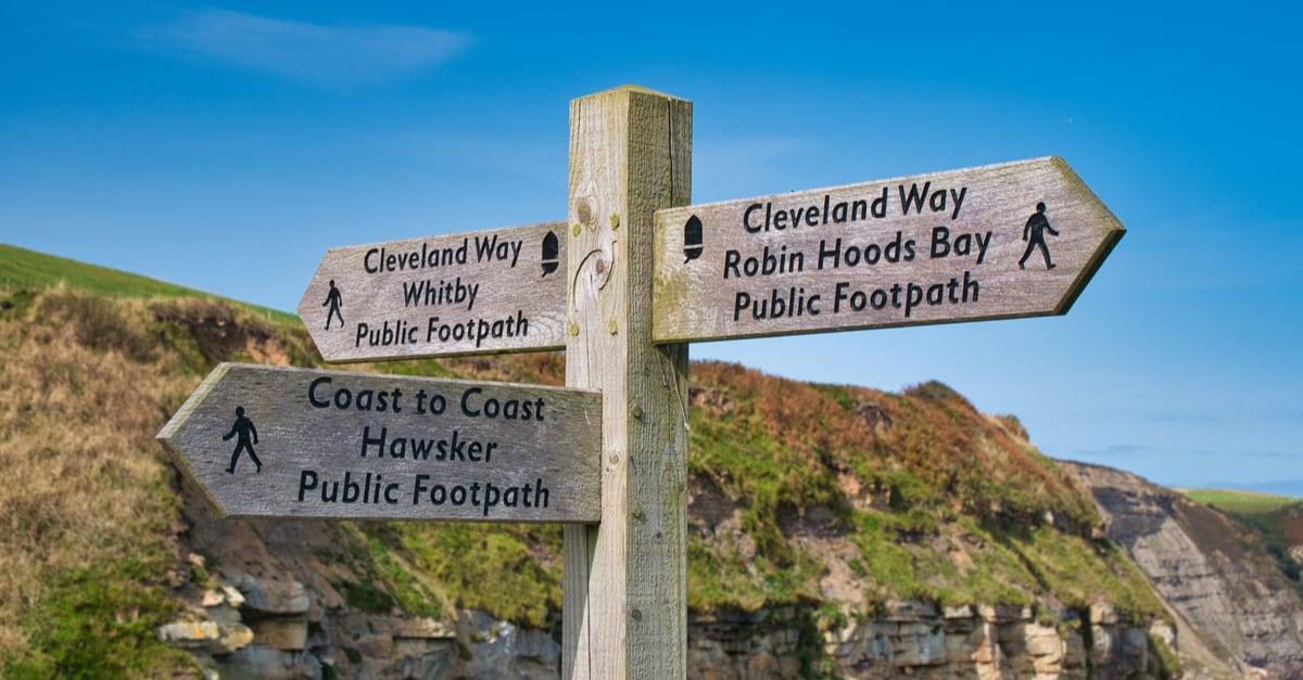 coast to coast walking path