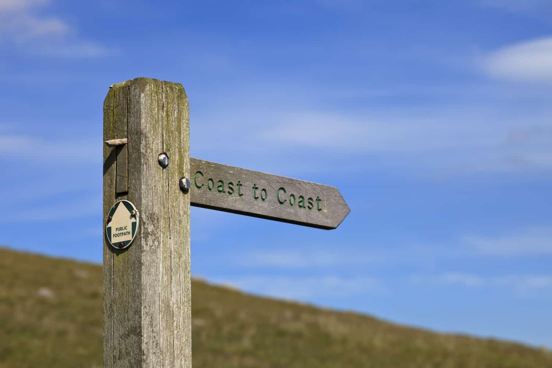 Coast to Coast signpost