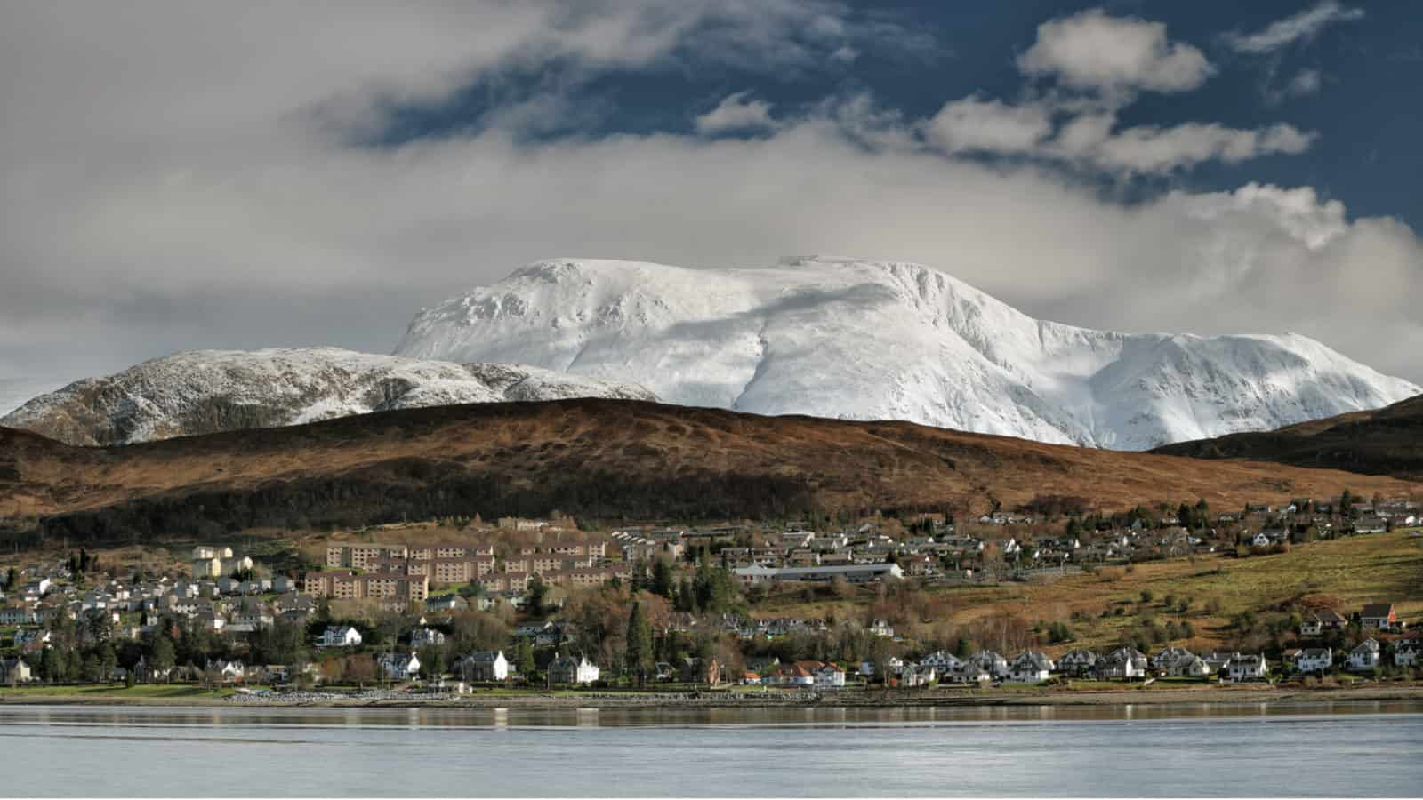 Fort William with Ben Nevis in the background