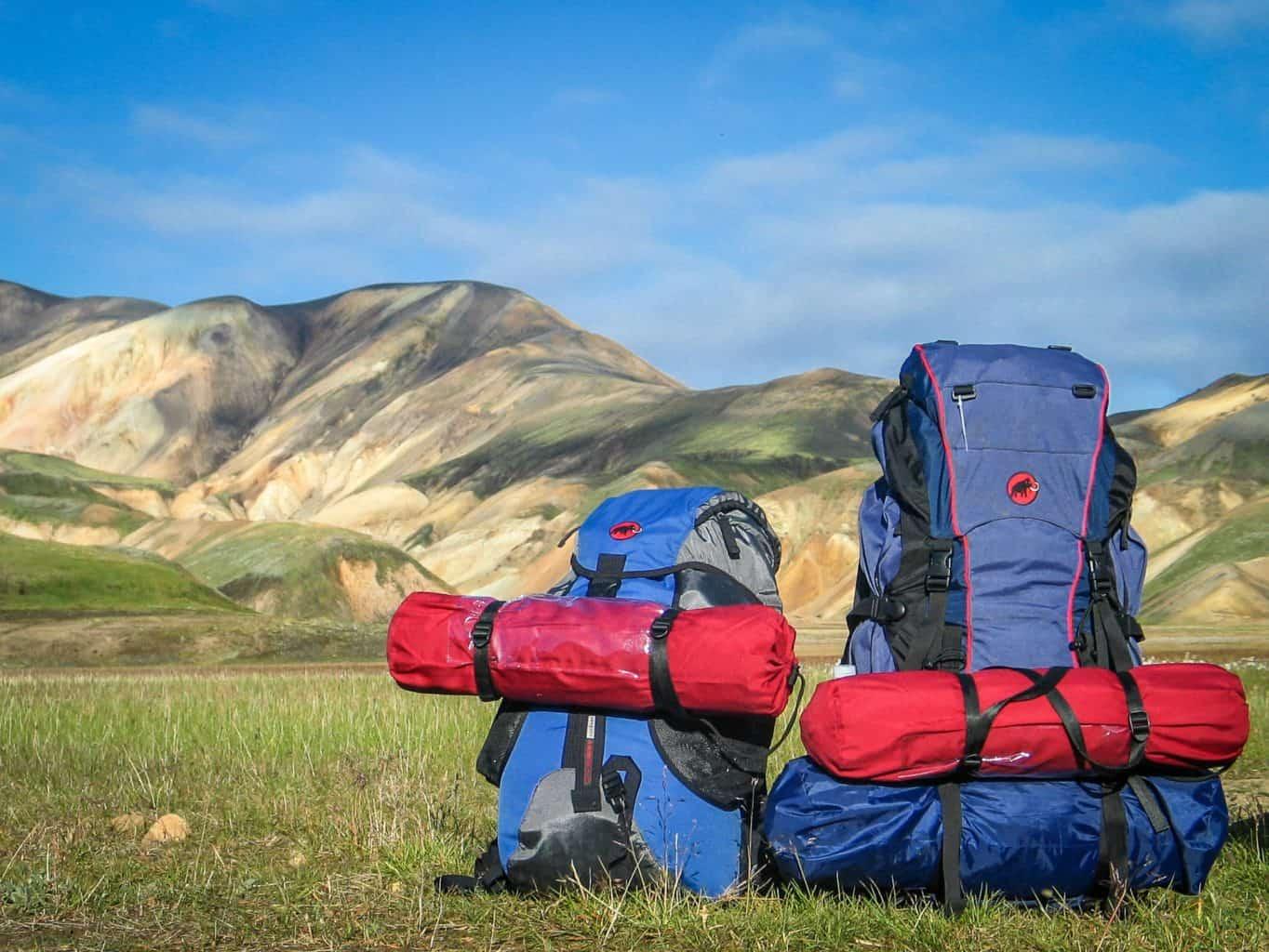 Hiking backpacks