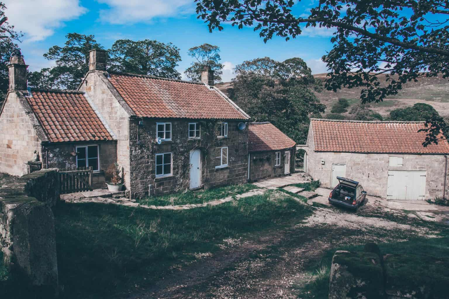 House in the North York Moors Park