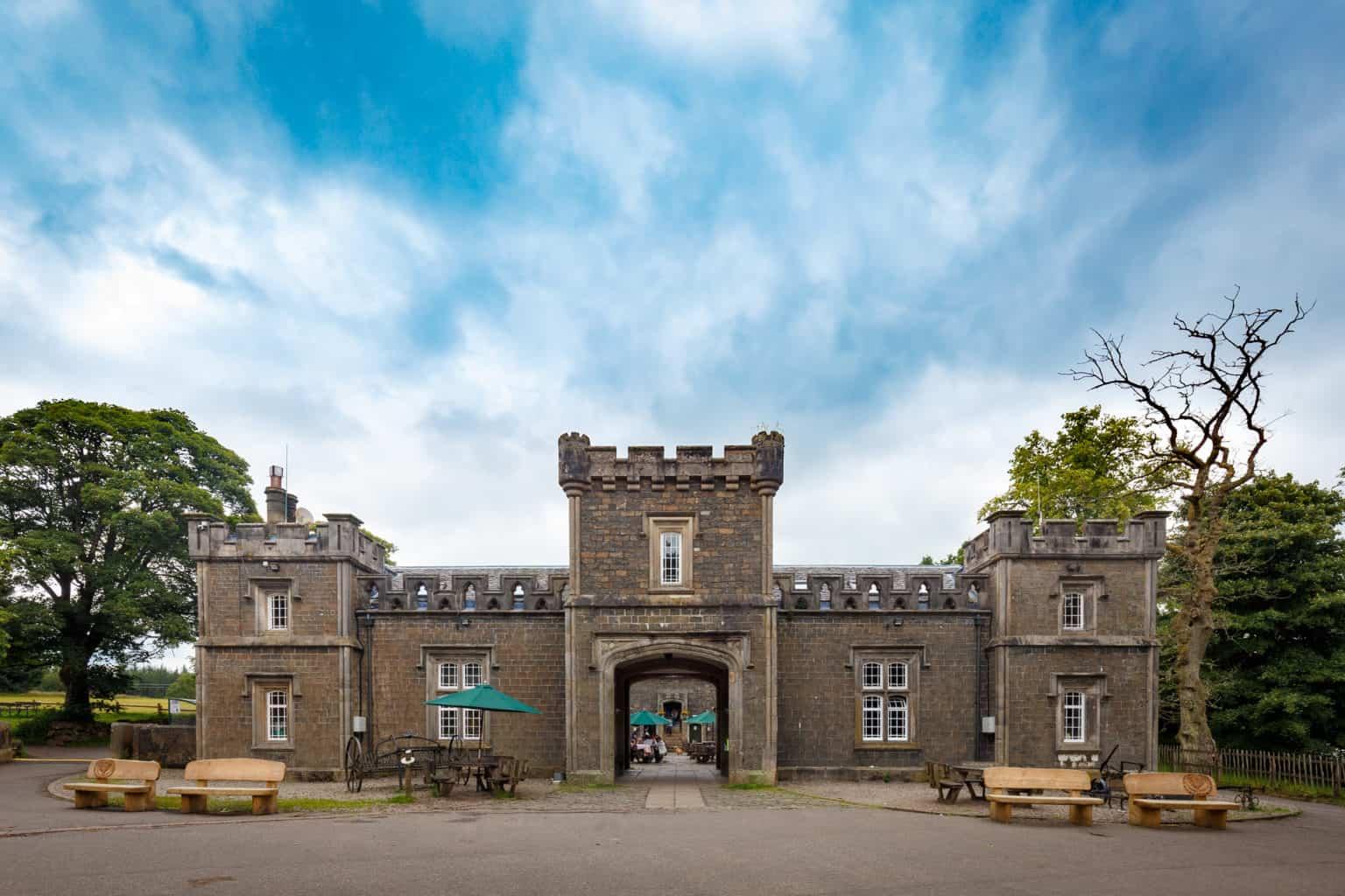 Mugdock Castle Visitors centre in Milngavie