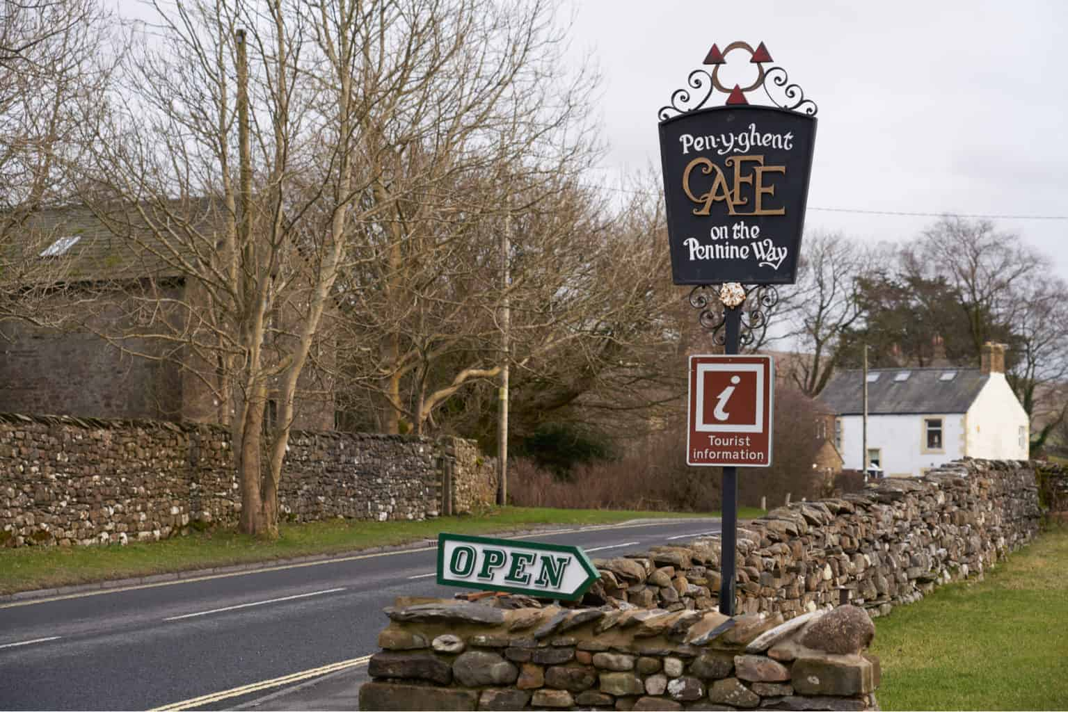 Pen-y-ghent cafe in Horton in Ribblesdale