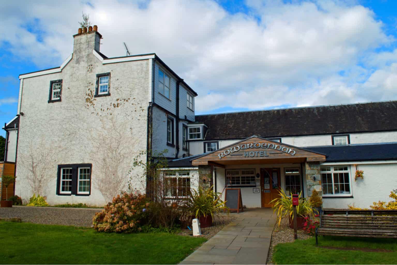Rowardennan Hotel on Loch Lomond