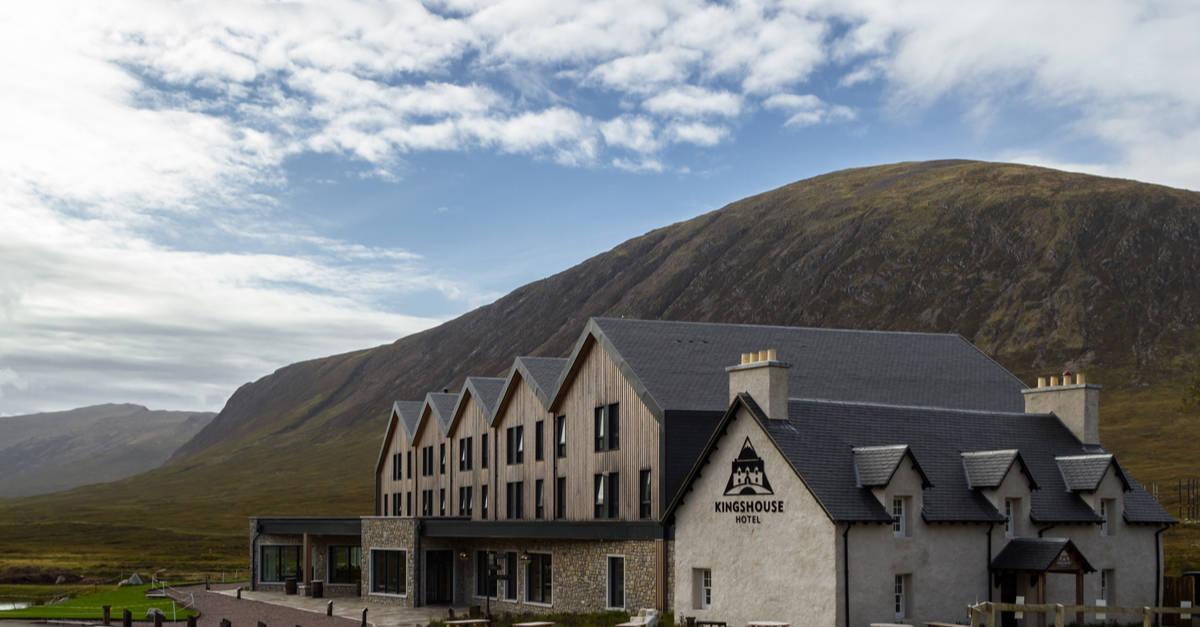 Kinghouse Hotel Glencoe on the West HIghland way