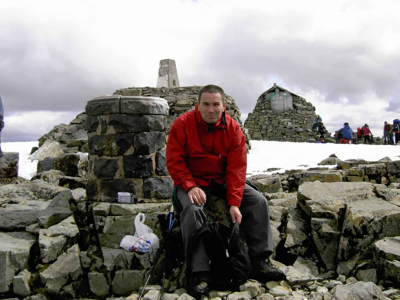Leslie at the Top of Ben Nevis