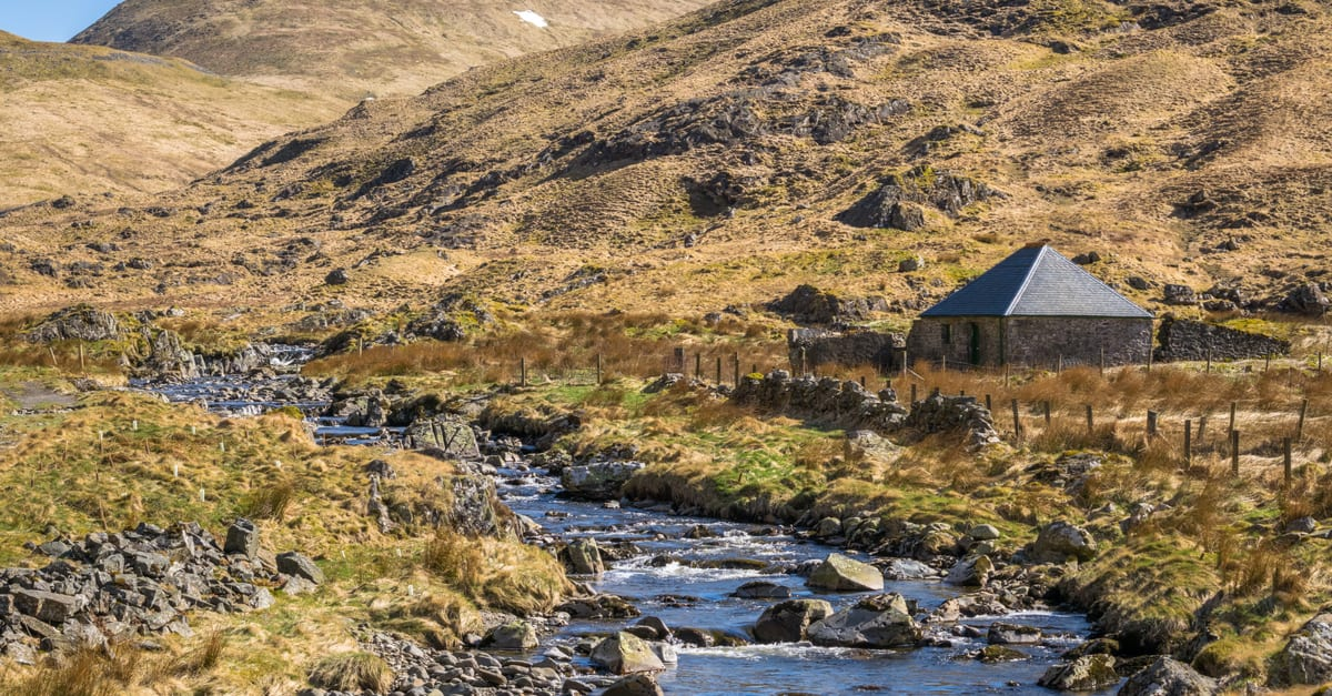 Bothy on the Southern Upland Way