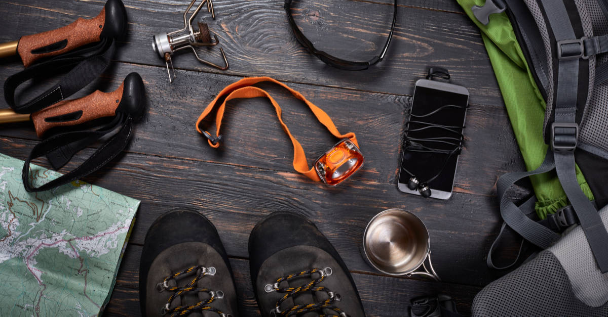 Hiking gear for the Speyside Way