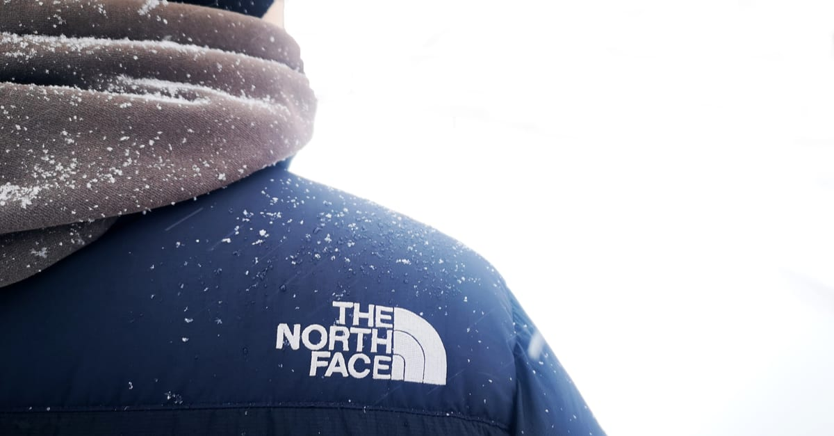 Man wearing North Face