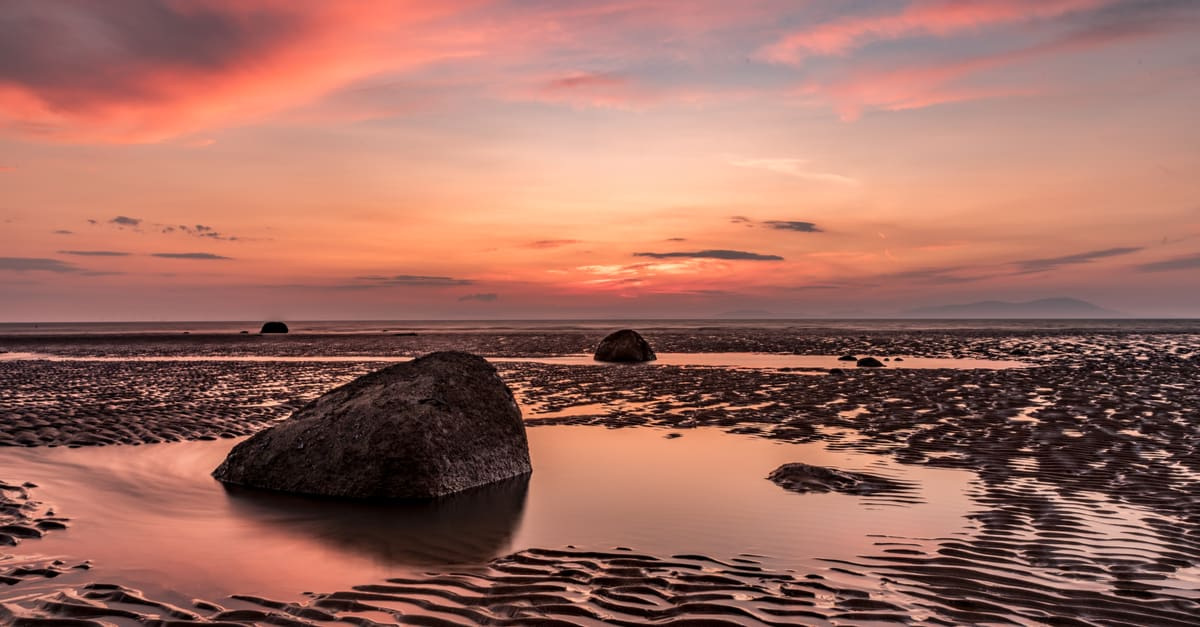 Summer Sunset over Solway Firth