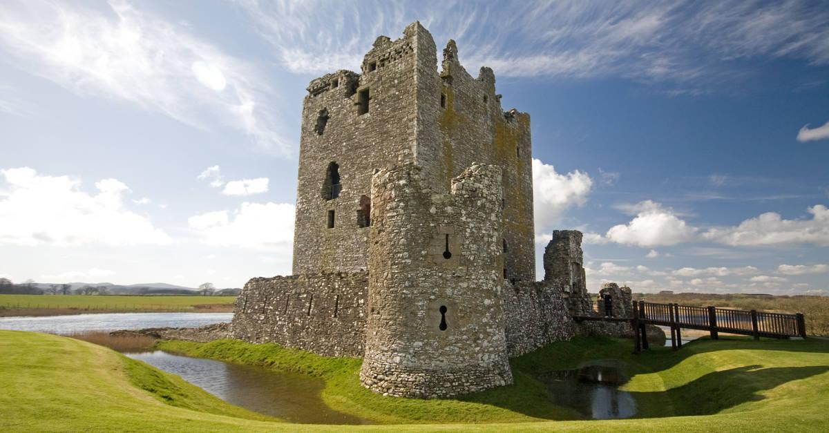 Threave Castle near St John's Town