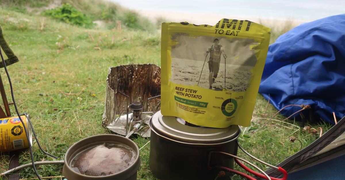 Wild camping food