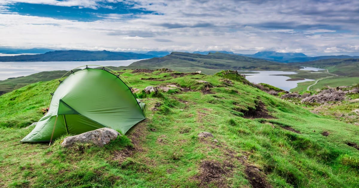 Wild Camping on the Isle of Sky